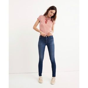 Madewell High Rise Skinny Tall Danny Wash Tencel